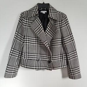 Liz Claiborne Houndstooth Coat